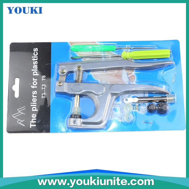 The pliers for plastics /Snap pliers for plastic snaps T3 T5 T8 all types buttons machines