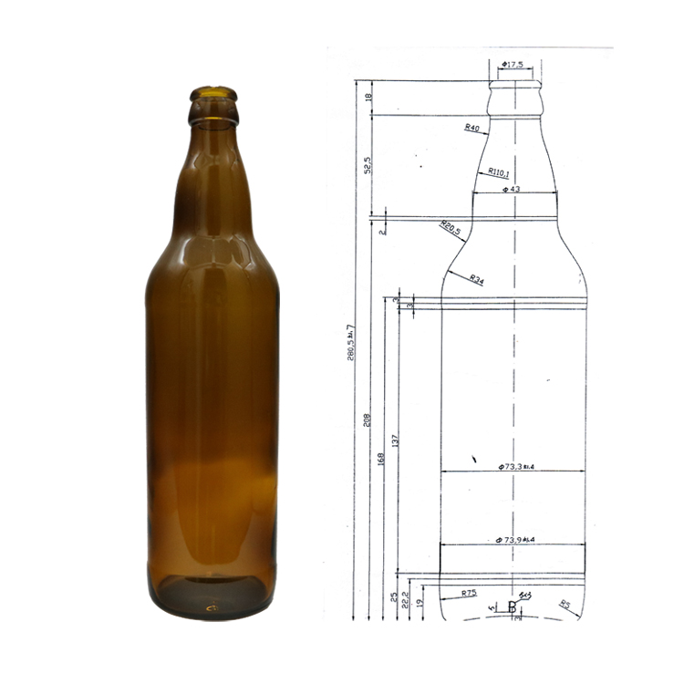 Standard 650ml Glass Beer Bottle Size - Buy Standard Beer Bottle,650ml  Glass Beer Bottle,Standard 650ml Glass Beer Bottle Product on Alibaba com