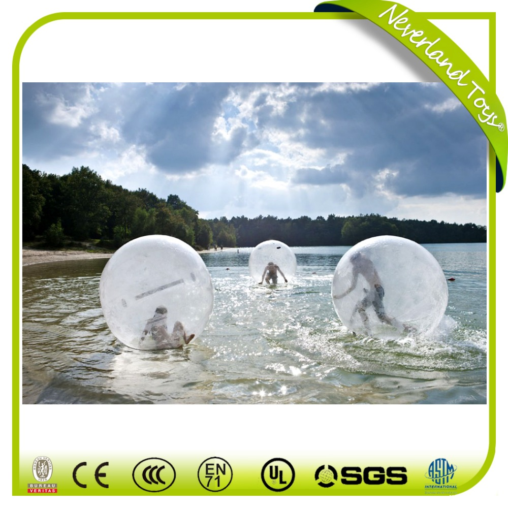 Hot Sale Colorful Boules De Course D'eau Inflatable Water Walking Ball Rental Crazy Inflatable Sports Games Water Toys