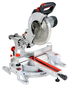 TOLHIT 1800w 15A 305mm 12in Power Sliding Compound Miter Saw Electric Wood Cutting Machine