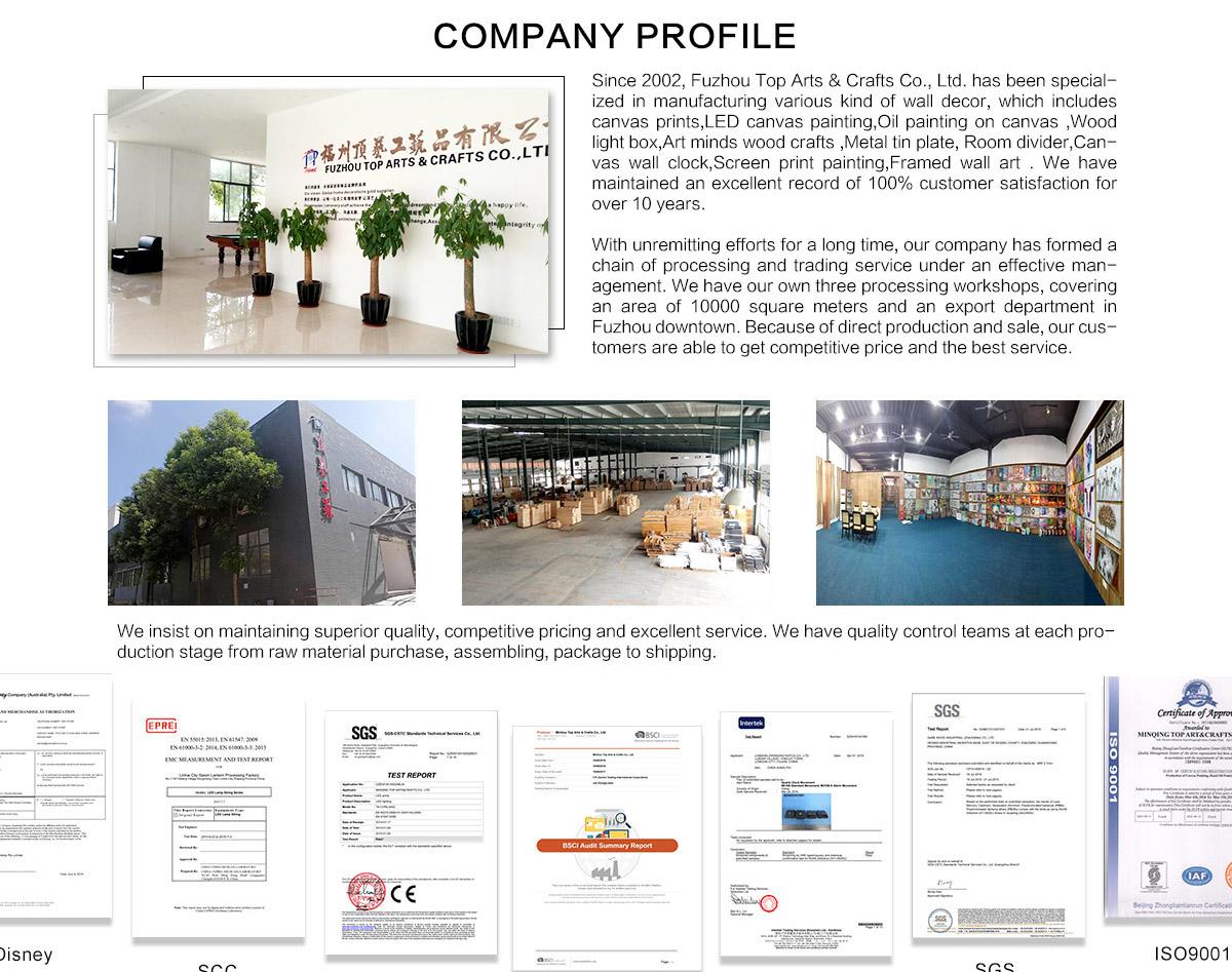 Fuzhou Top Arts Amp Crafts Co Ltd Canvas Painting