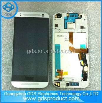 For Htc One Mini 2 M5 Lcd Display Touch Screen Digitizer + Frame ...