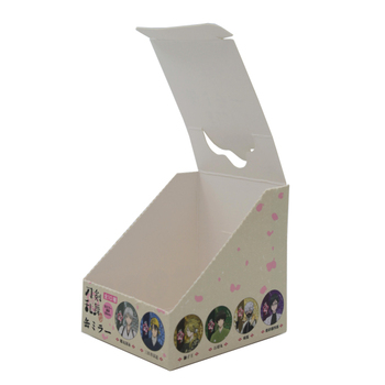 JiaYuan Custom Biodegradable Boutique Candy Cardboard  Counter Top Display Stand  Box