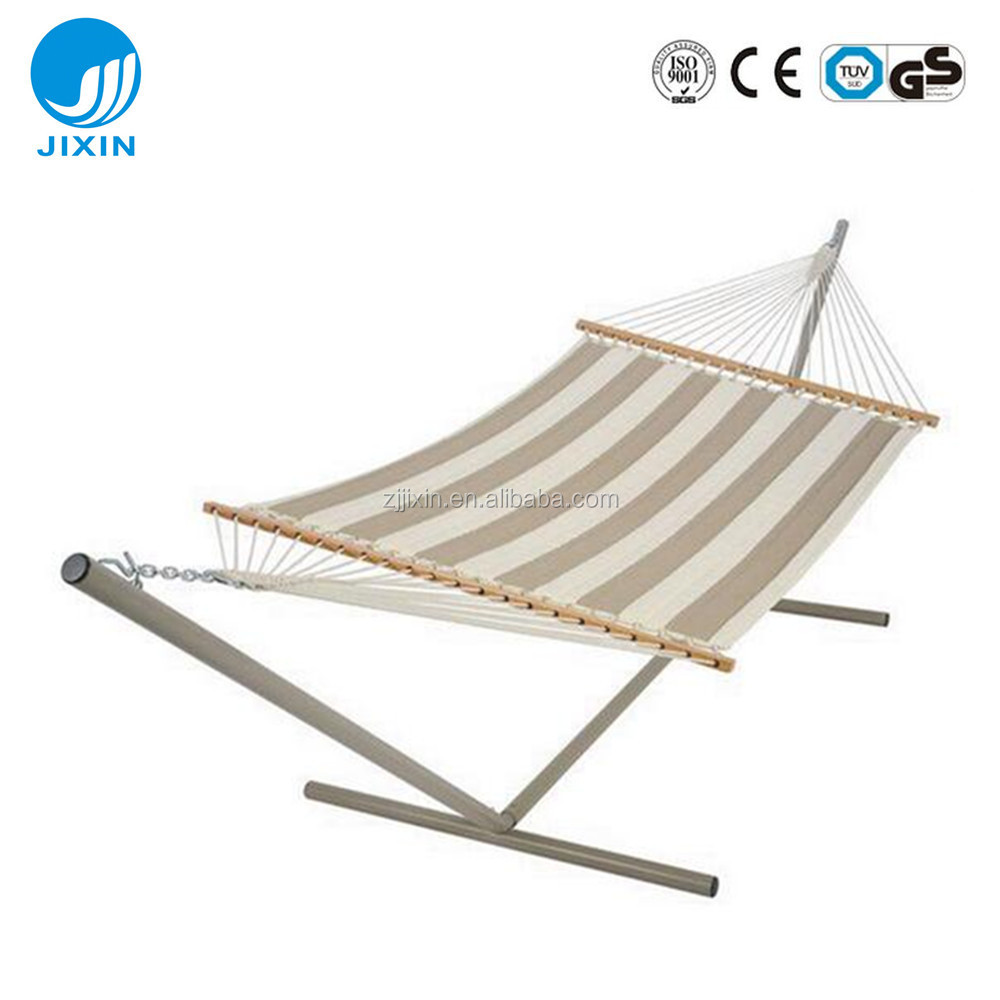 Heavy Duty Portable Steel Camping Folding Hammock with Stand