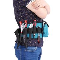 Rig Hammer Tools Bag Waist Pockets Electrician Tool Pouch Holder Pack Men Multi-Pockets Tool Bag Utility Pouch Belt Bag