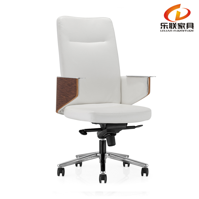 Foshan Lelian in pelle bianca racaro sedie da ufficio sedia girevole ...