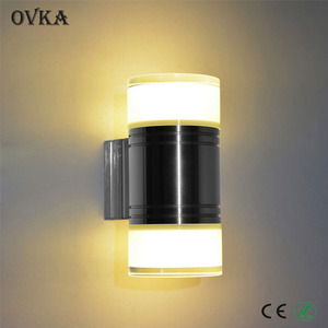 Low price LED indoor wall lamp creative simple bedside lamp