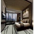 Luxury soft fashionable floor european style 3d printed hotel room carpet