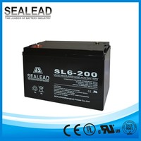 6v 200amp 200ah vrla type and maintenance free rechargeable battery pack for online UPS power backing up