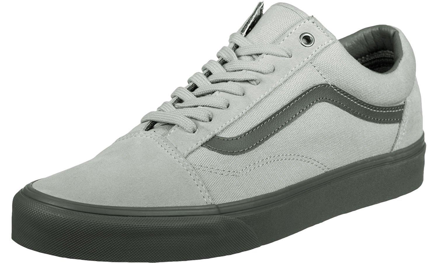 9c9efc9e7b Get Quotations · Vans Old Skool (C D) High-Rise  Pewter