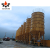 Competitive price 150 ton cement silo in india durable used cement tank for sale