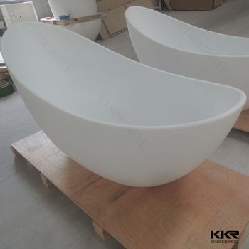 kingkonree white marble 2 person soaking tub