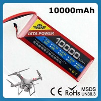 OEM/ODM customized remote control helicopter plane 10000mah 3.7v rc helicopter battery lipo battery