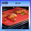 Fat Draining Kitchen Collection Silicone Baking Mat,Silicone Diamond Pyramid Pan BBQ Grill Baking