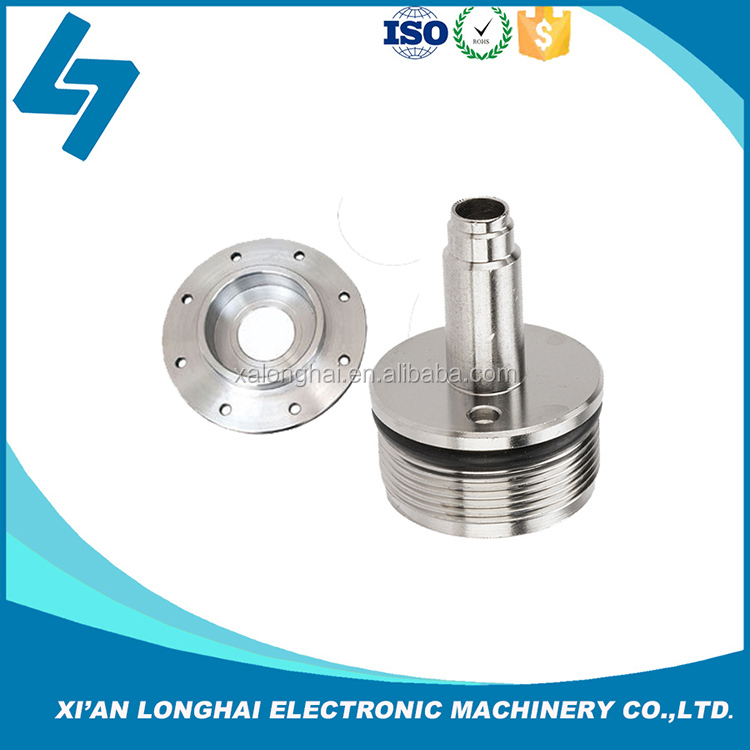 High quality cnc machine carbon steel chrome plating components