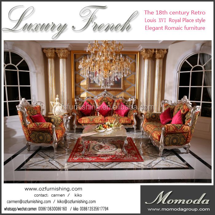 a803t francese classica di lusso divano mobili/mano curve 3 + 2 + ... - Mobili Soggiorno Di Lusso 2