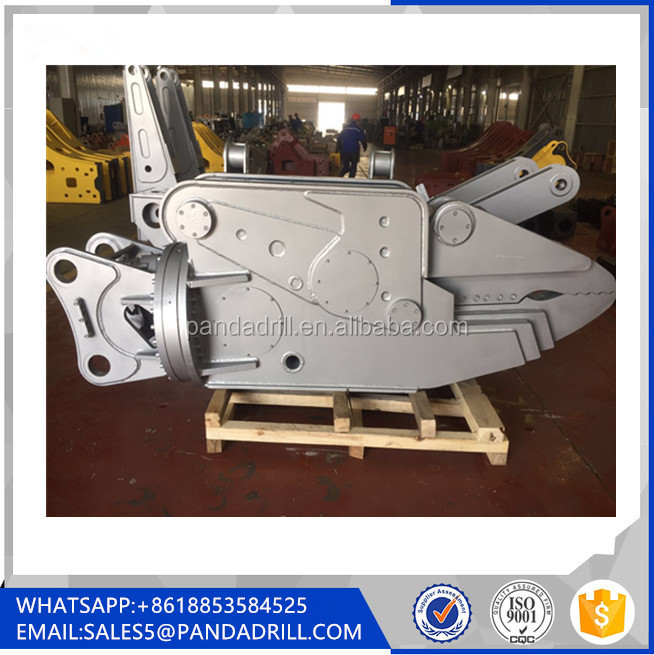 Hydraulic Rotating Scrap Metal Shear for 20 Ton Excavator