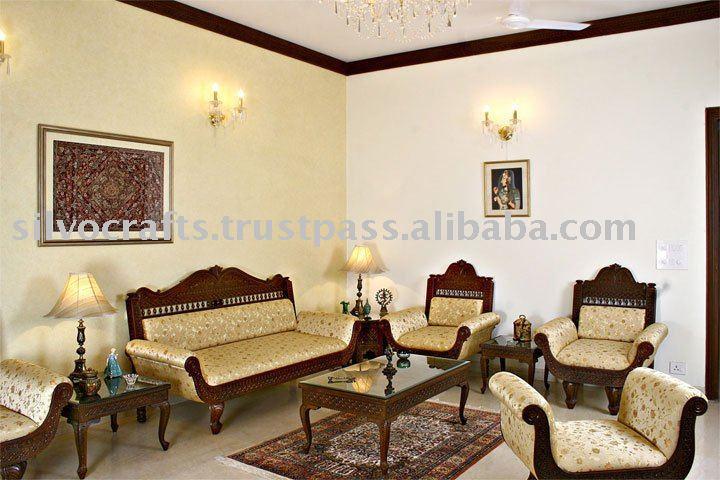 Royal Indian Rajasthani Jodhpur Hand Carved Teak Wooden Sofa Sets Chairs Furnitures By Clic Silvocrafts Set
