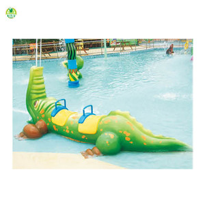 Good water spray play water park games build a water park game QX-18076C