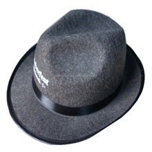Hot sell New 100% polyester black felt derby hat