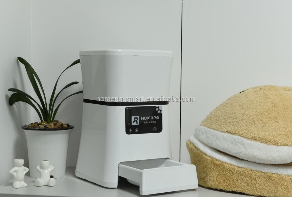 Homerun Automatic Pet Feeder Timed Dog Feeder cat automatic programmable pet feeder