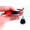 lifelike blade dancer bait clip custom fishing lure manufacture heads water duck fishing crankbait soft artificial bait