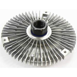High performance auto viscous cooling clutch fan