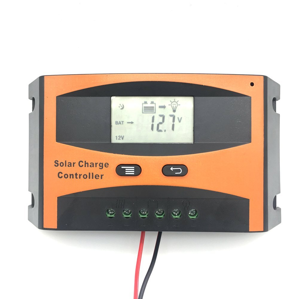 Vta-Tech 10A Solar Charge Controller 12V 24V Completed Technical Data for Setup and Modify (10A)