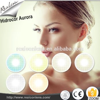 Realcon 14mm Color Contact Lens Cosplay Crazy Fancy Red Color Hollywood Contact Lens Factory