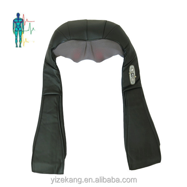 Rolling Neck Shoulder Heating Massage Belt,Electric Back Body Massagers with Heat