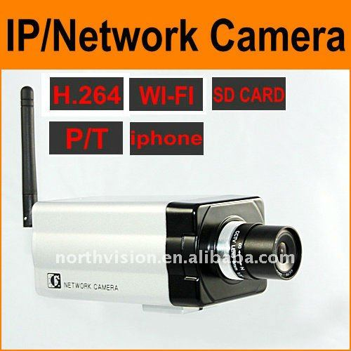 1/3 SONY CCD sensor IP Camera with 30fps for NCH-531W