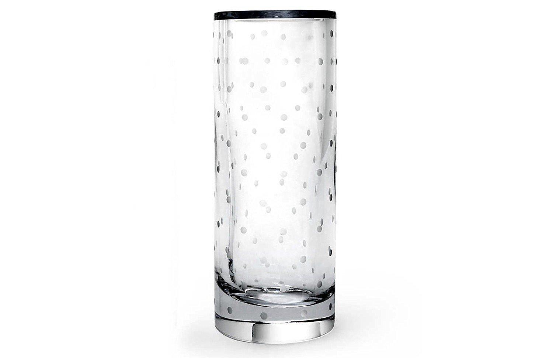 Buy kate spade new york larabee dot vase in cheap price on m kate spade new york larabee dot crystal cylinder vase 10 reviewsmspy