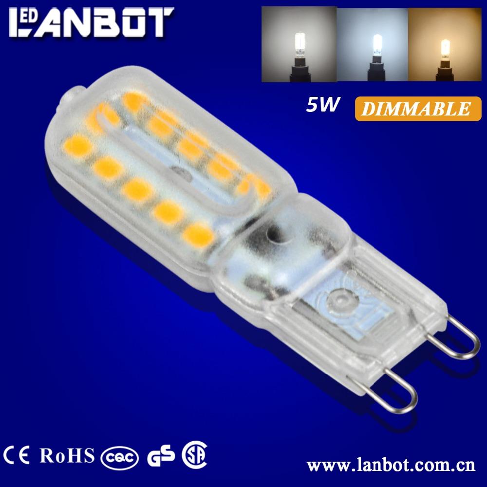 2016 Newest Bulbs Dimmable Led G9/gu9 Bulb Good Quality Smart ...