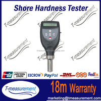 Shore durometer rubber plastic hardness tester