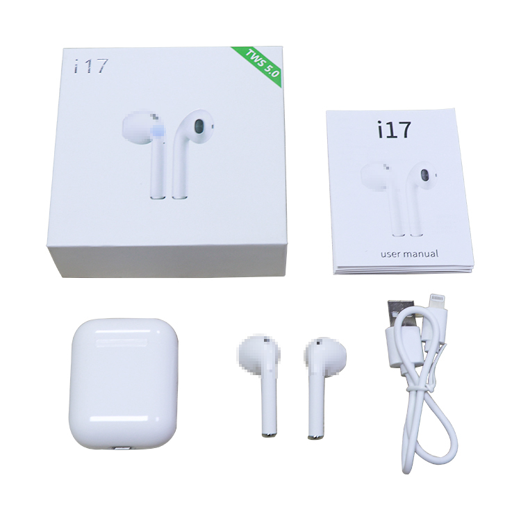 I17 Tws Touch Control Mini Sport Wireless Earbuds 5 0 Bluetooth Earphones  Headset Pk I10 I11 I12 Tws For Ios Android Smart Phone - Buy Bluetooth