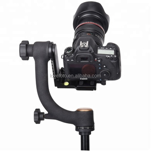 Q45S Panoramic 360 Degree Vertical Pro Gimbal Tripod Head For Wildlife Photographer Nature Photography