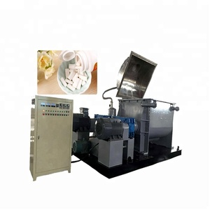 candy processing horizontal dough mixer