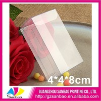 Recycled feature plastic soap packaging box clear rigid plastic box