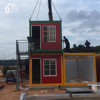 EPS Sandwichplatte Haus Preis Container Haus, Wirtschafts Versand Container  Haus, Containerhaus Thai