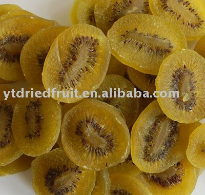 dried kiwi fruit (without color added)