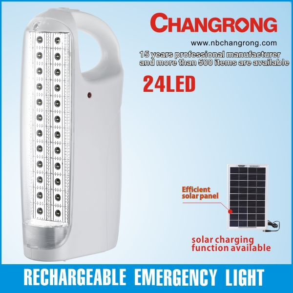 CR-1057L Changrong solar portable emergency LED lantern made in china