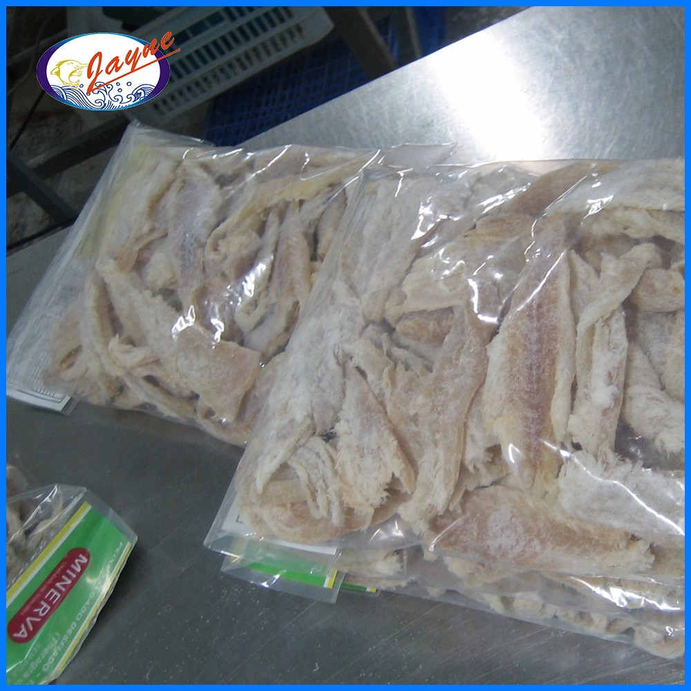 Salted dried pollock migas with 50-52% moisture