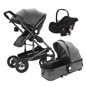 Shopping buggy stroller with car seat/china baby stroller 2018 manufacturer/baby stroller 3 in 1