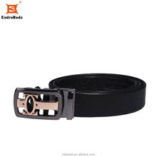Fashion men belt high quality leather belt Auctomatic belt buckle