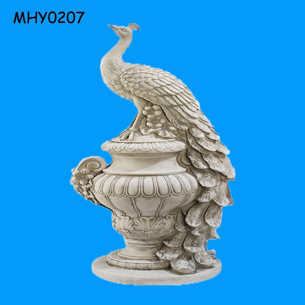 Decorative Peacock Statue, Decorative Peacock Statue Suppliers And  Manufacturers At Alibaba.com