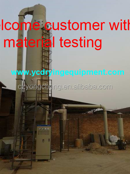 dry flowable (DF) agrochemical spray dryer granulator