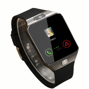 5$ GSM SIM card waterproof smartwatch dZ09 smart watch for smartphone
