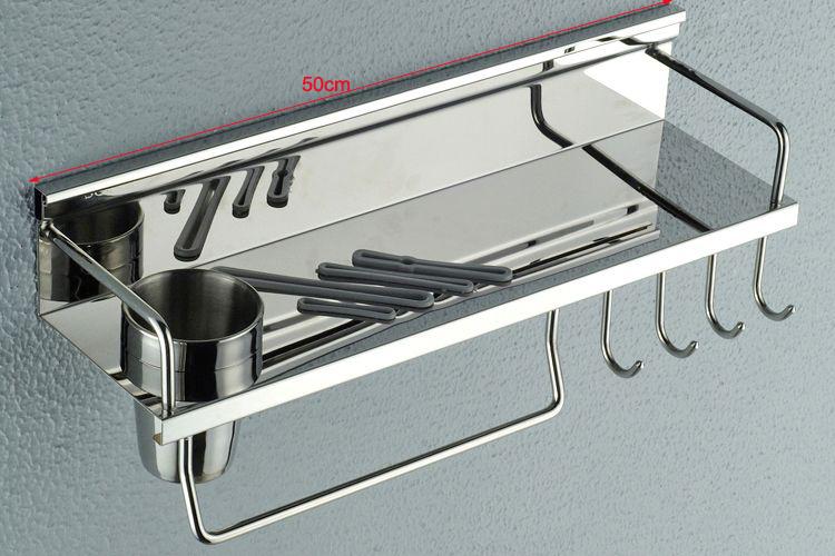 Komersial Modern Dapur Dapur Stainless Steel Rak Dinding Buy Rak