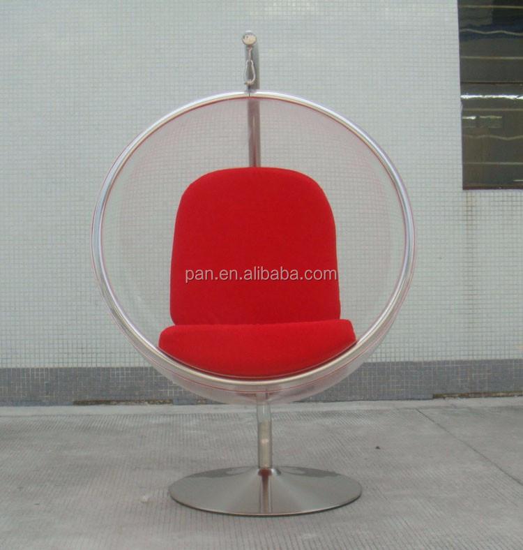 Charming Original Modern Replica Chairs Clear Acrylic Swing Hanging Globe Chair