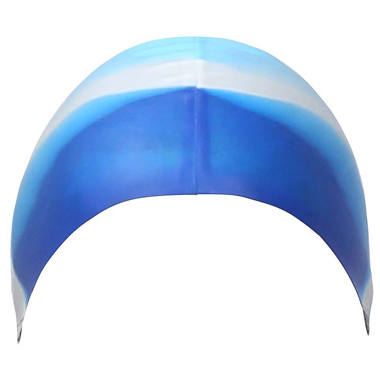 Adult Waterproof Professional Sublimation Silicone Swimming Caps